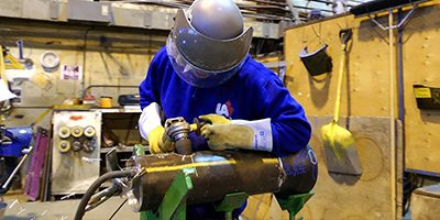 Workshop pipe fitters