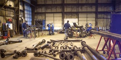 Pipe fitters – prefab pipes
